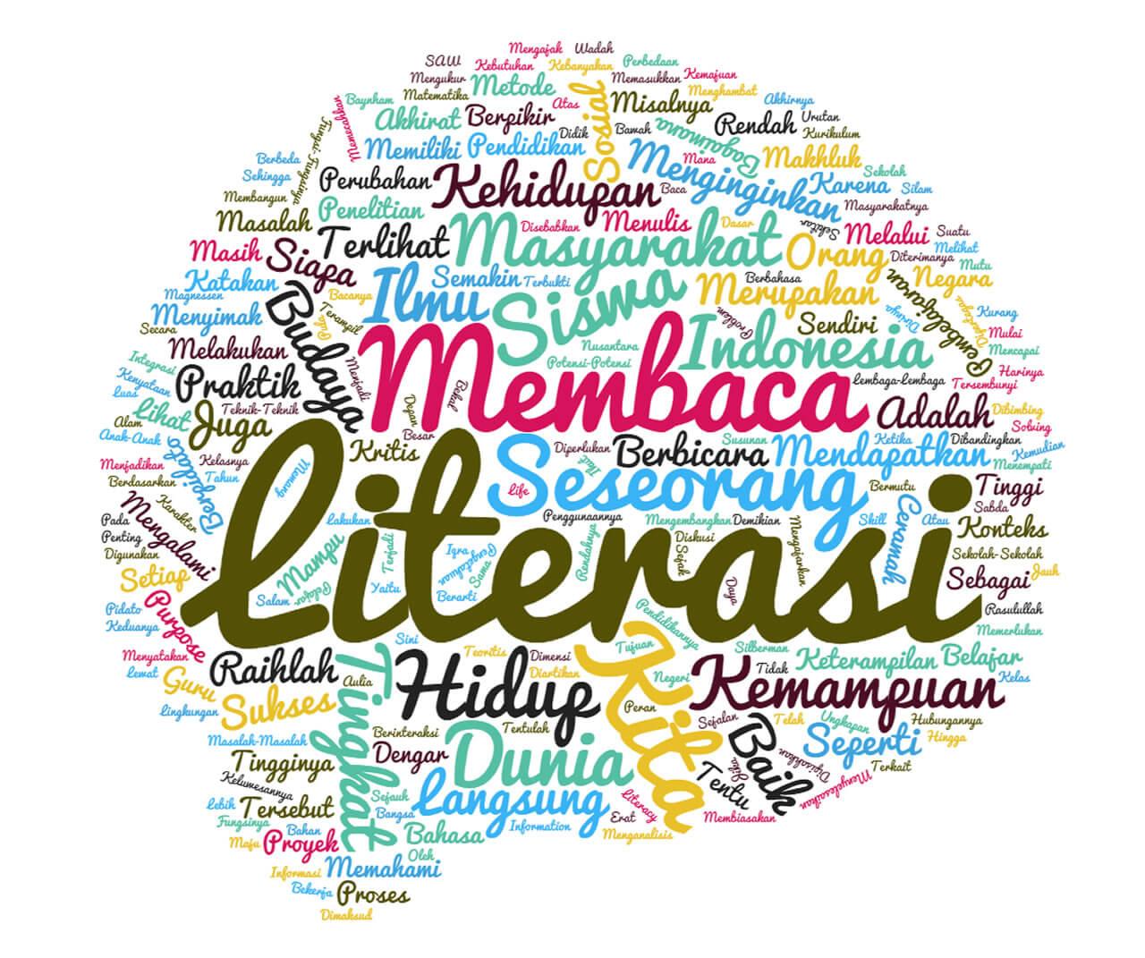 Budaya Literasi di Indonesia Masih Bisa Terus Dikembangkan Menuju Literasi yang Lebih Baik (ilustrasi, dakwatuna.com)