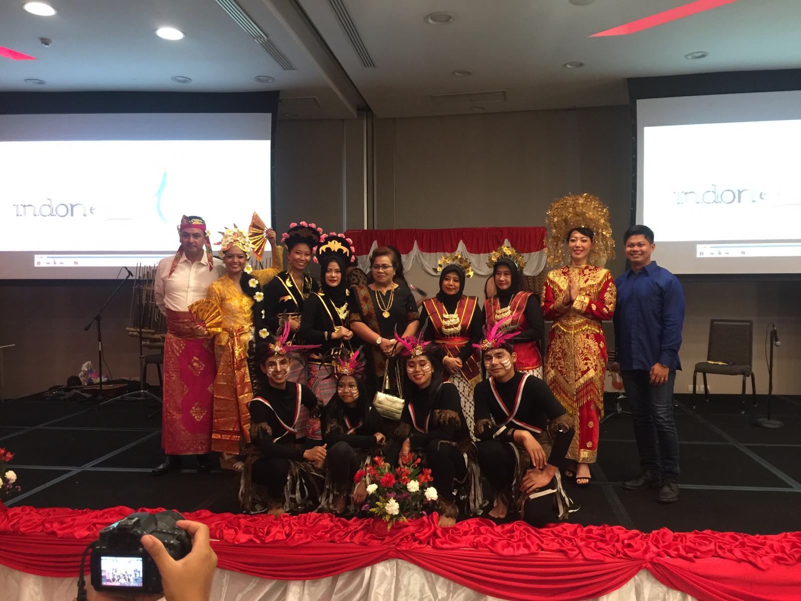 Dharma Wanita Persatuan Havana & Diaspora Indonesia usat pertunjukan seni