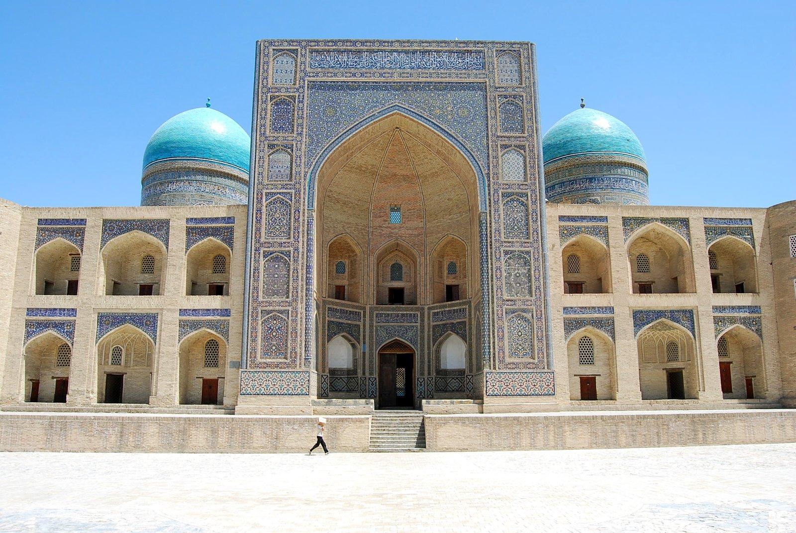 Foto Masjid Bukhara di Uzbekistan (Susanne Wunderlich)