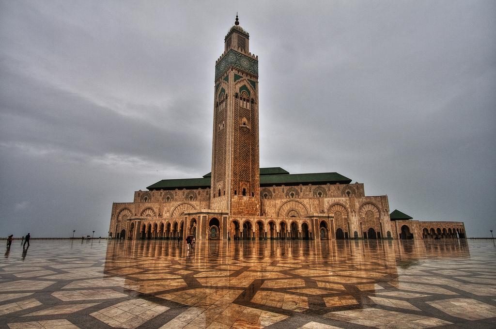 Masjid Hassan II | foto :  Rindu Masjid