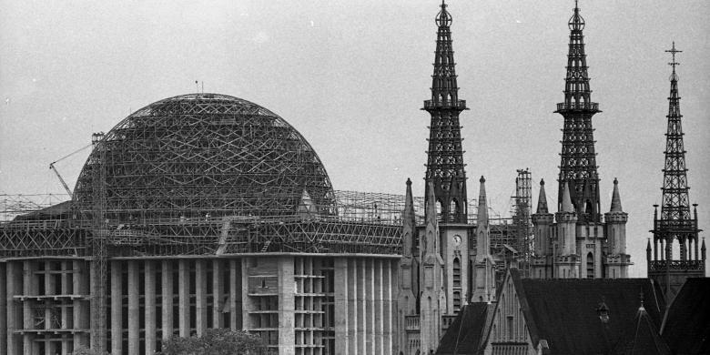 Pembangunan Masjid Istiqlal | Kompas