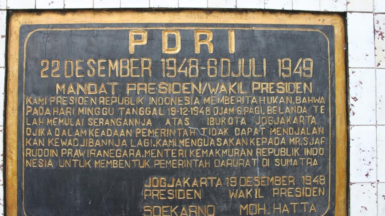Maklumat PDRI | Kompas.com