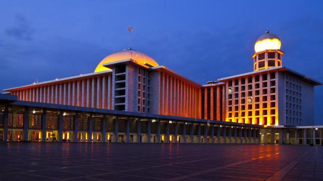 Masjid Istiqlal | foto : liputan6.com