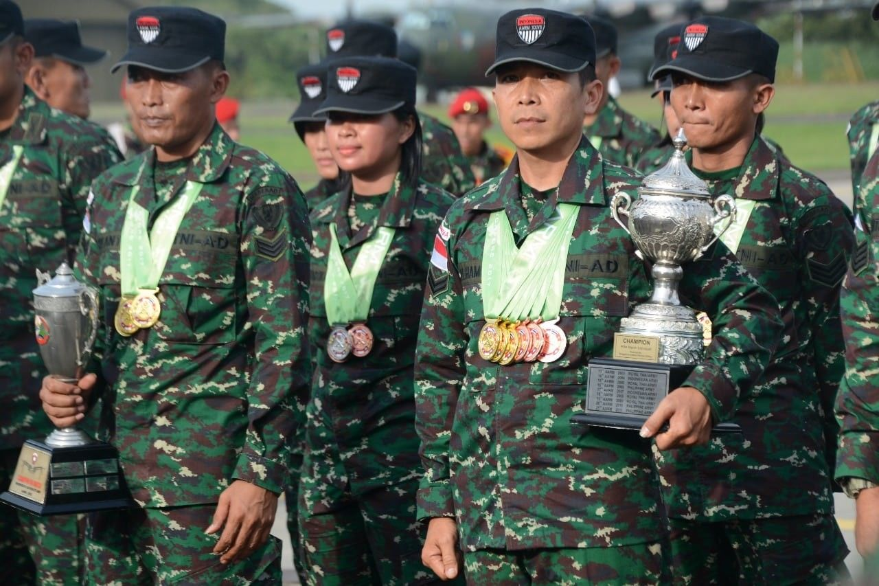 Lomba Tembak ASEAN Army Rifle Meet (AARM) | Foto : idntimes.com