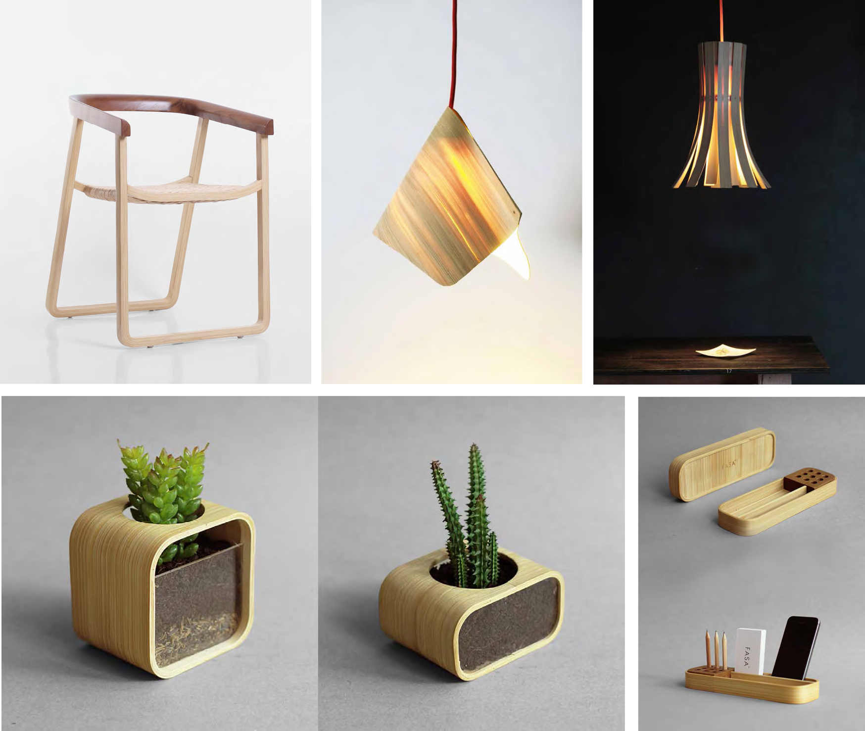Chair, Pendant Lamps & Stationery (FASA)