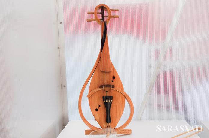 Bamboo Violin | Foto : sarasvati.com