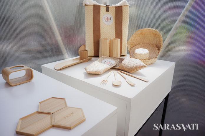 Bamboo Tableware | Foto : Sarasvati.com
