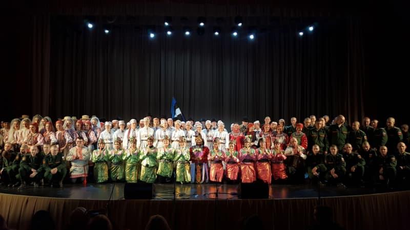 Tim Kesenian Indonesia di Intl. Folklore Festival | Dok. KBRI Moskow