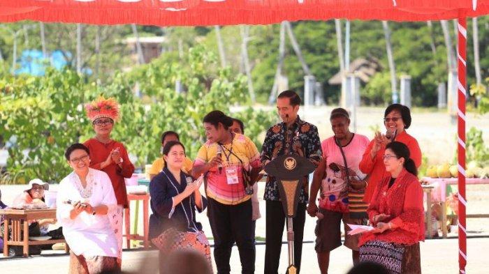 Jokowi Peringati Hari Ibu di Papua | Foto : tribunnews.com