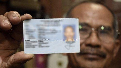 Kartu Tanda Penduduk salah seorang penghayat kepercayaan | foto: tirto.id
