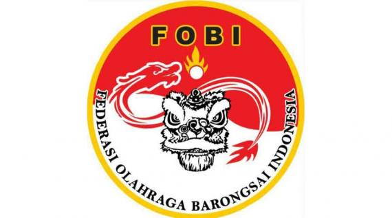Lambang Federasi Olahraga Barongsai Indonesia (FOBI) | Foto: olahragabarongsai.blogspot.com
