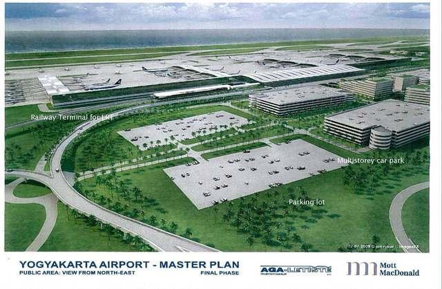 Master plan bandara baru Yogyakarta