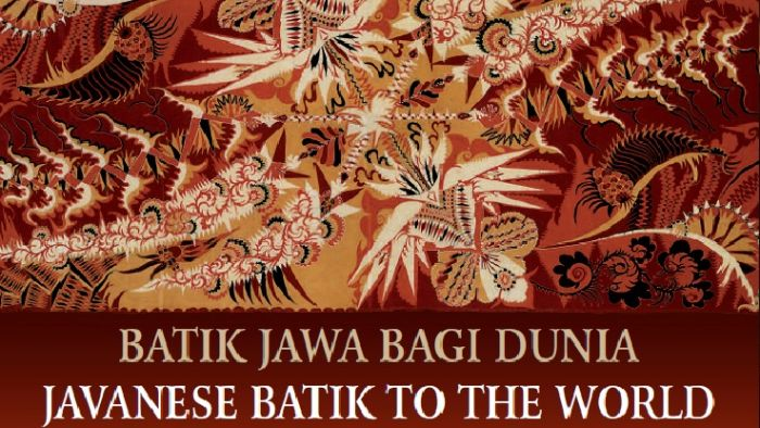 Sampul depan buku 'Javanese Batik to the World. Buku ini ditulis ke dalam dua bahasa, yakni Inggris dan Indonesia (source image: australiaplus)