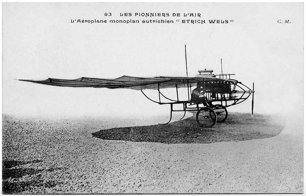 Pesawat yang dikembangkan Igo Etrich (foto: monash.edu.au)