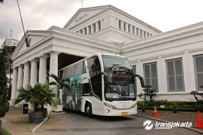 Bus Jakarta Explorer baru dijajal oleh Trans Jakarta akhir tahun 2016 lalu (Foto: transjakarta)
