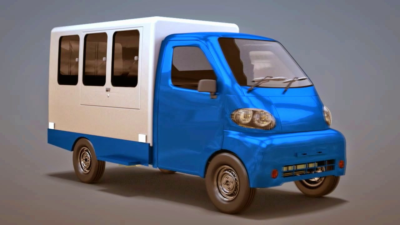 Desain Mobil Multiguna Pedesaan yang pernah dibuat oleh mahasiswa ITS tahun 2014 (foto: Ristekdikti TV/Youtube)