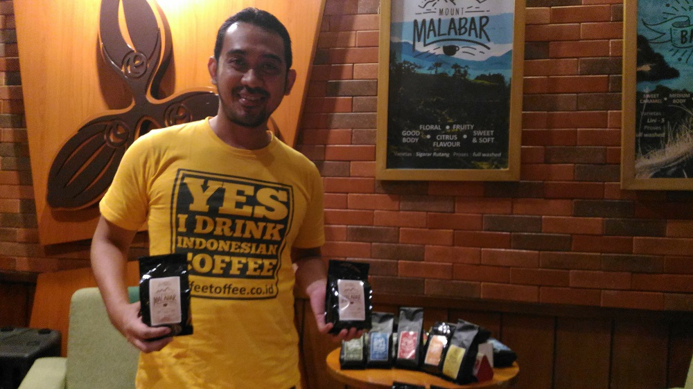 Odi dan tim Coffee Toffe kini tengah memantapkan diri tampil di pasar Asia Tenggara (foto: GNFI)