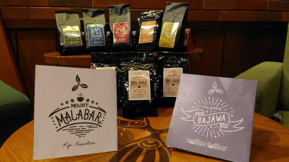 Bulan Februari lalu Coffee Toffee meluncurkan varian kopi baru, yaitu kopi Bajawa dan Malabar (foto: GNFI)