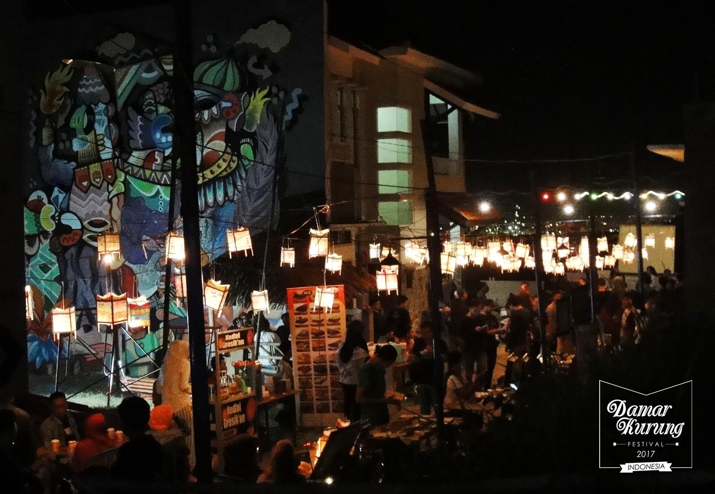 DamarKurung Festival tahun 2017 ini mengusung tema Cahaya, Kota dan Kenangan (foto: DamarKurung Festival)