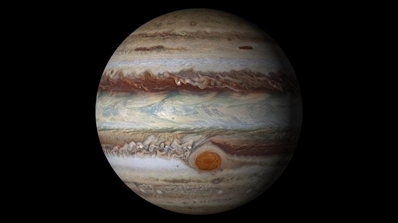 Tanggal 8 April kita bisa menyaksikan kehadiran Planet Jupiter di atas langit sepanjang malam