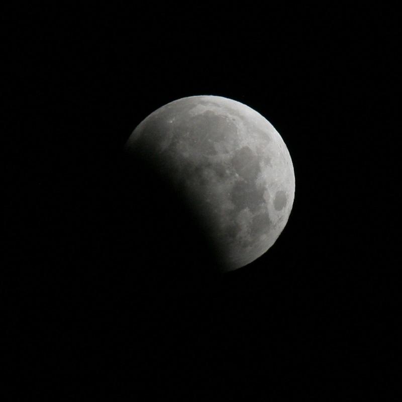Fenomena gerhana bulan penumbra menjadi awal fenomena gerhana bulan tahun ini (foto: ANTARA)