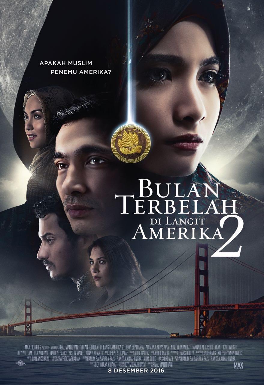 Poster film Bulan Terbelah di Langit Amerika 2