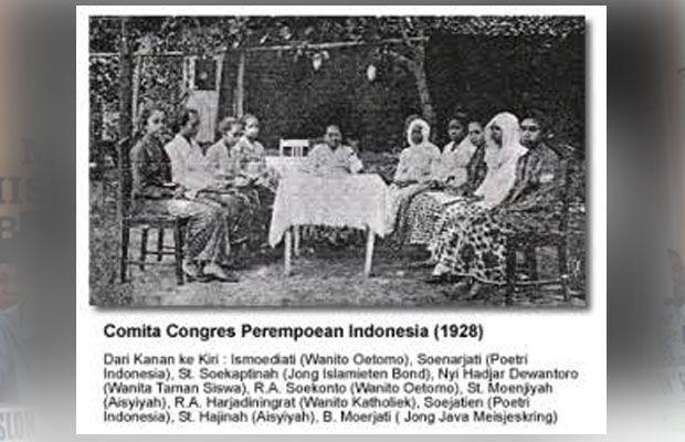 Kongres Perempoean I pada tahun 1928 menjadi penanda ditetapkannya Hari Ibu Nasional (Foto: Kabar Malang)