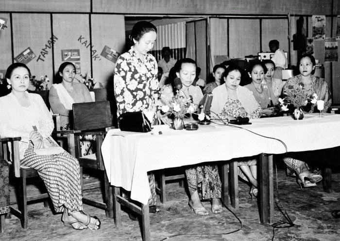 Pelaksanaan Kongres Perempuan pada tahun 1950