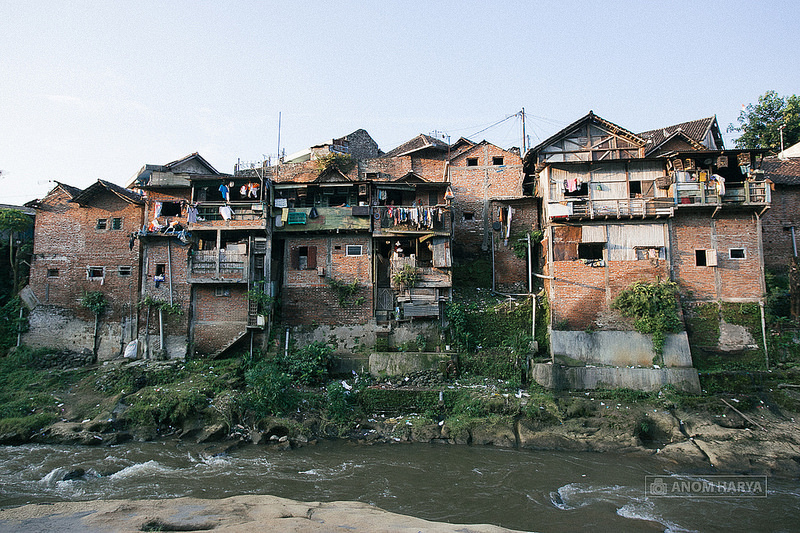 Kampung Wonosari sebelum disulap jadi warna-warni (foto: Anom Harya)