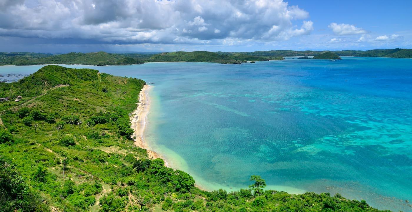 Pesona indah Lombok, NTB telah membuat wisatawan Korsel jatuh cinta
