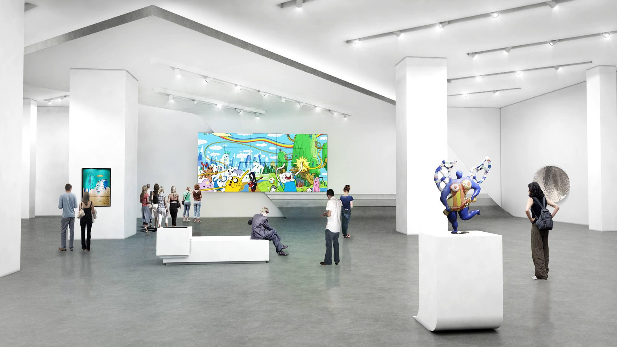 Museum MACAN bisa jadi tempat para seniman untuk bertukar inspirasi (foto: MACAN)