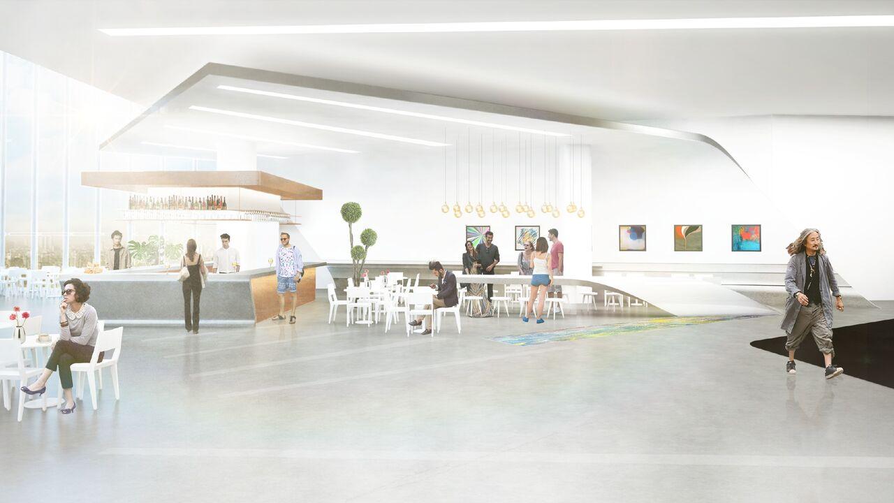 Desain kafe museum MACAN
