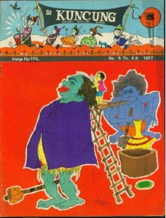 """Majalah """"Si Kuncung"""" menjadi trendsetter majalah anak-anak di Indonesia (foto: plus.google)"""