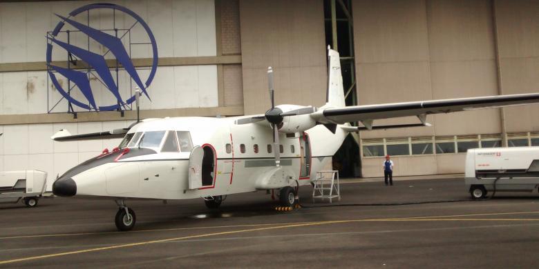 Pesawat NC212i juga dipesan 3 unit oleh Vietnam (source image: kompas.com)