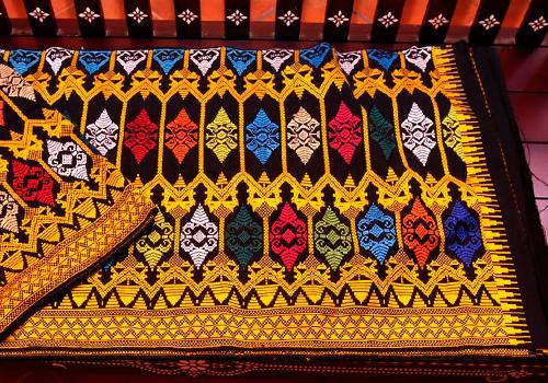 Kain tenun motif Subahnale (Foto: wijayamurta88.wordpress.com)