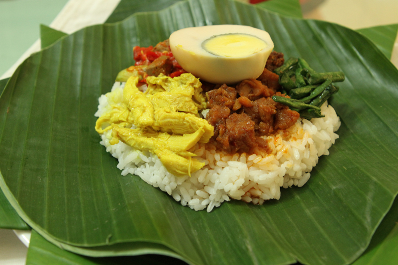 nasi begana (source: rumahmahoni.com)
