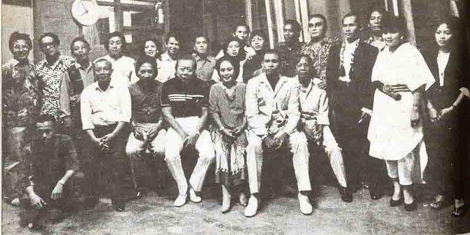 Para pelawak perintis Indonesia