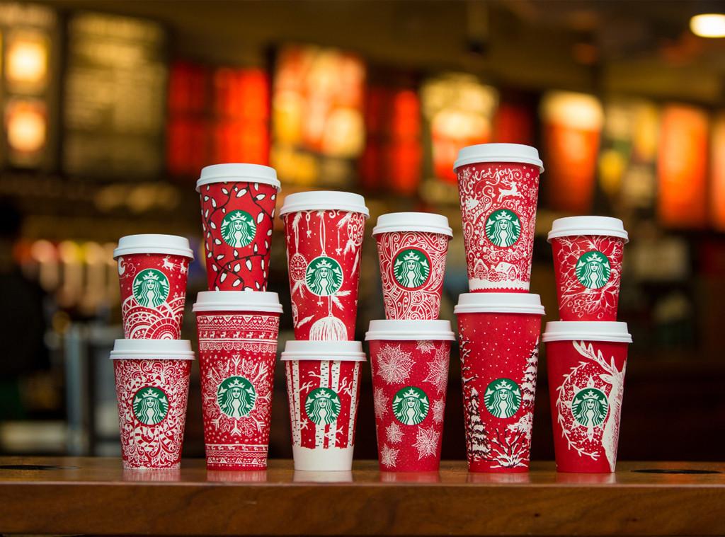13 desain special red cup Starbucks yang terpilih