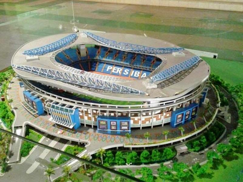 Desain Stadion Batakan