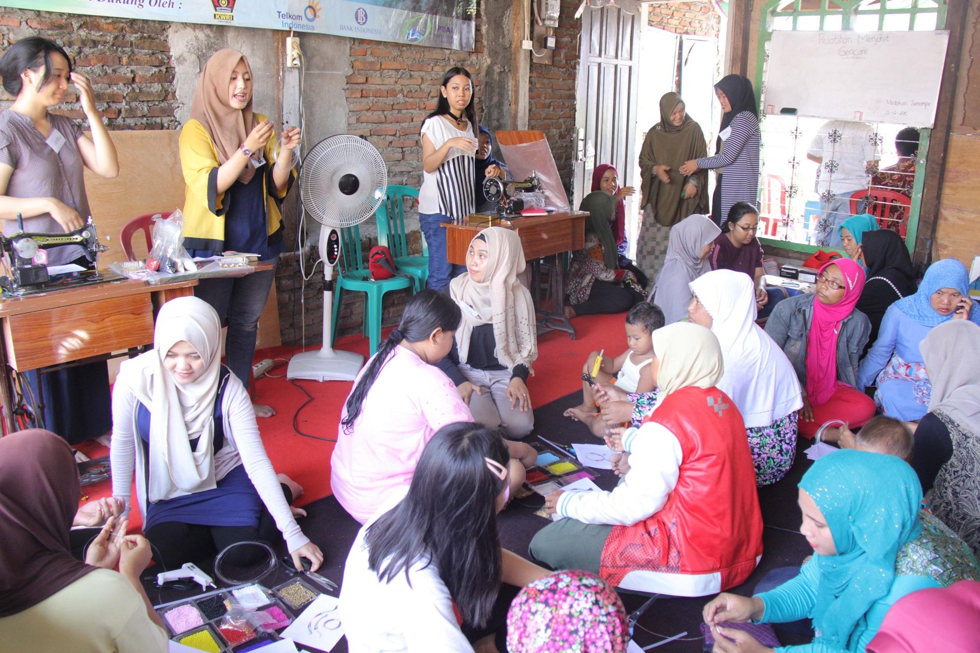 SPC juga turut membantu dalam pemberdayaan perempuan