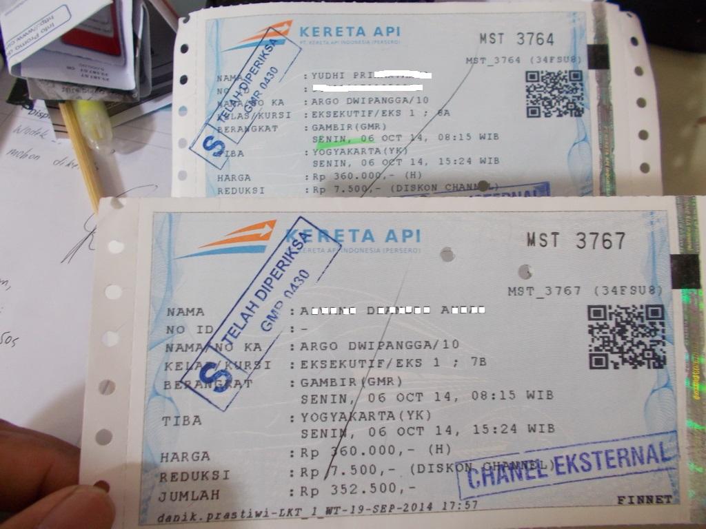 Tiket dengan QR Code (source: kaskus.com)
