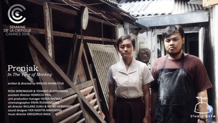 Film pendek karya Wregas, Prenjak, memenangi film pendek terbaik di ajang Festival Film Cannes 2016