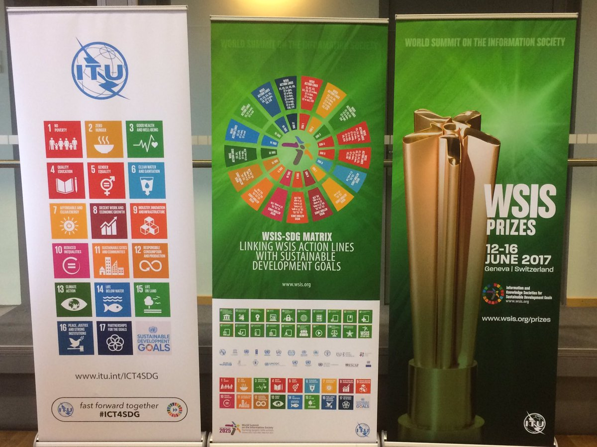Puncak pelaksanaan WSIS Prizes tahun 2017 ini akan dilaksanakan di Jenewa, Swiss (foto: twitter.com)
