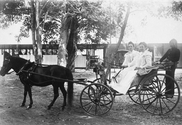 Andong pada masa penjajahan hanya digunakan oleh keluarga keraton | Foto: Tatangmanguny.wordpress