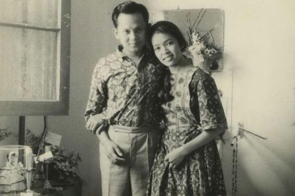 Habibie dan Ainun, foto setelah menikah | Foto : Brilio.net