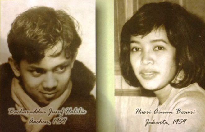 Habibie dan Ainun saat masih muda | Foto : minenews