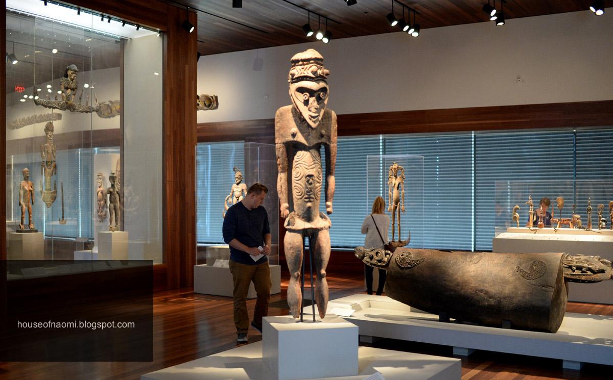 Patung ukiran Suku Asmat Di San Fransisco l Sumber: Ari saputra