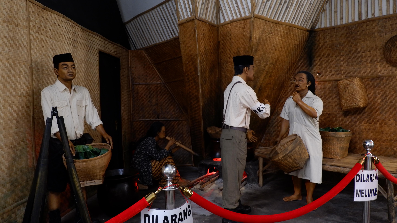 Salah satu diorama yang ada di Museum Sepuluh November l Sumber: Atika puji