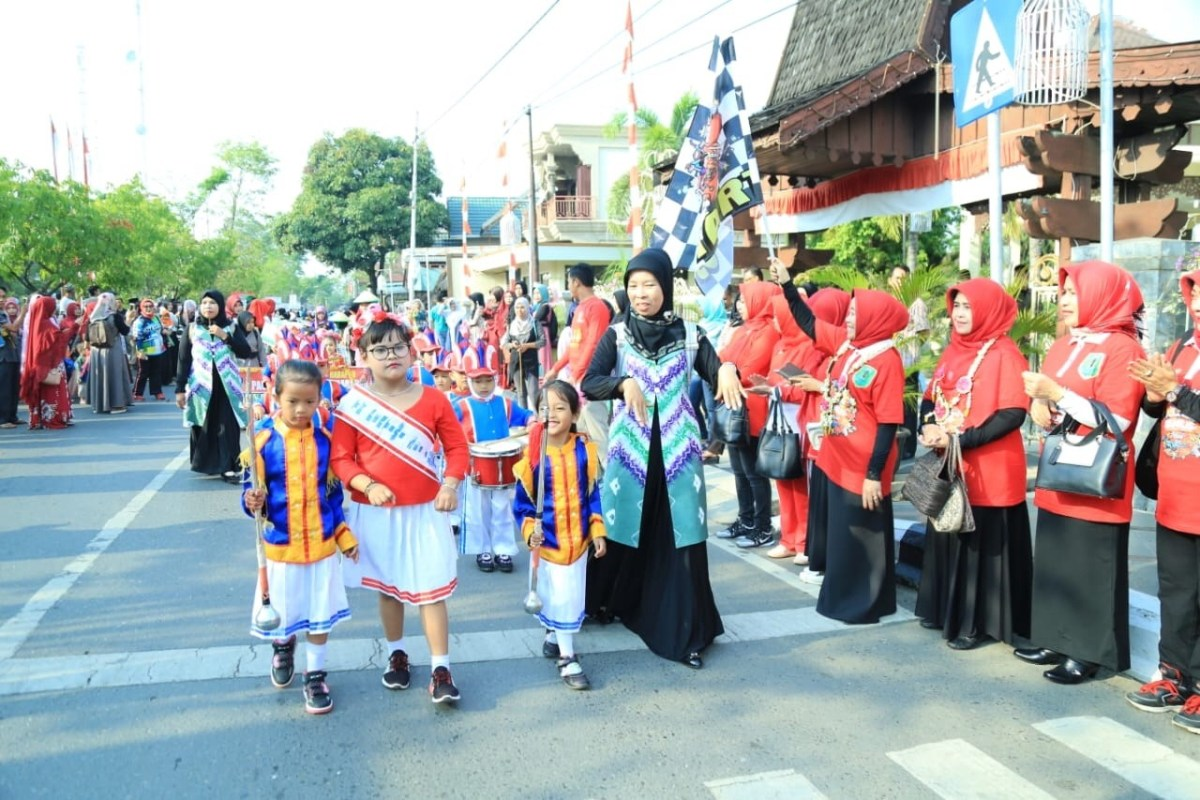 Salah satu kegiatan memperingati Hari Anak Nasional l Sumber: hulusungaiutarakab.go.id