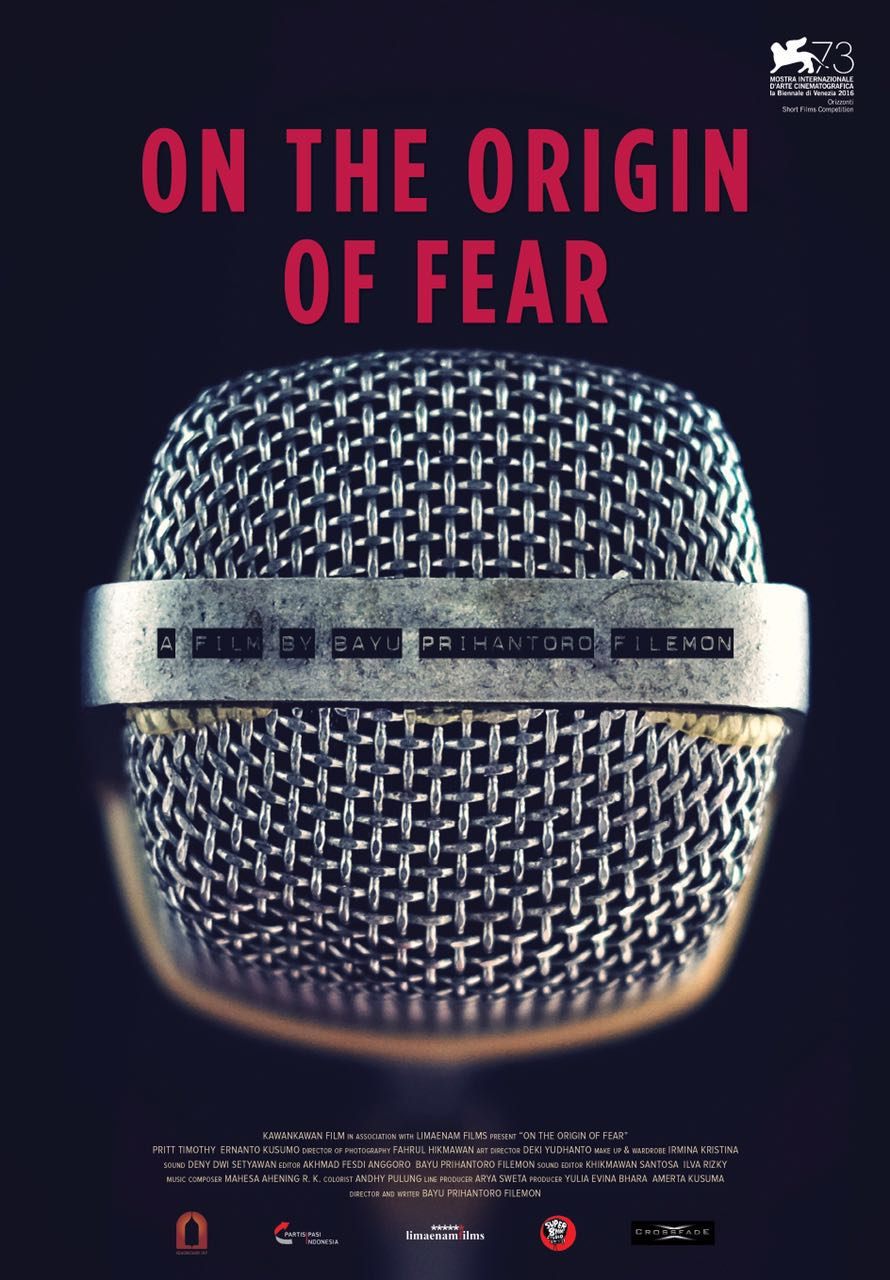 poster On The Origin of Fear